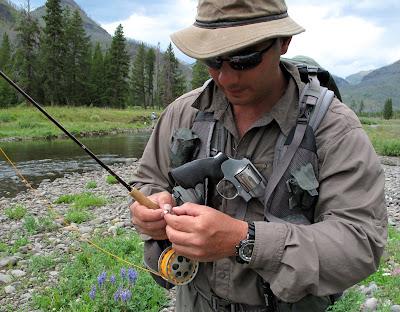 2009 - USA Hellroaring Creek | Fly Fishing Diaries