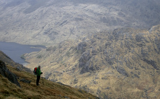 Phil's Picture: Above Loch Morar
