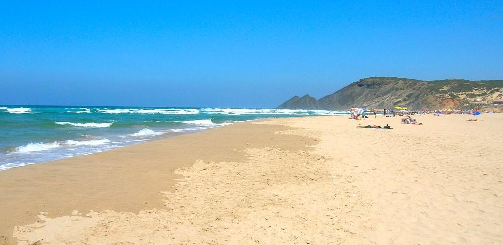 Playa de Amoreira, Algarve