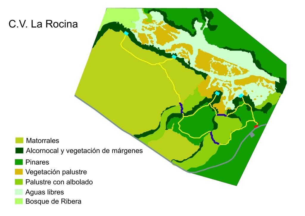 Senderos de La Rocina en Doñana