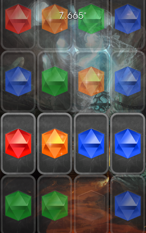 Tap The Right Gems- screenshot