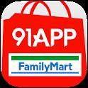 91APP x 全家館 icon