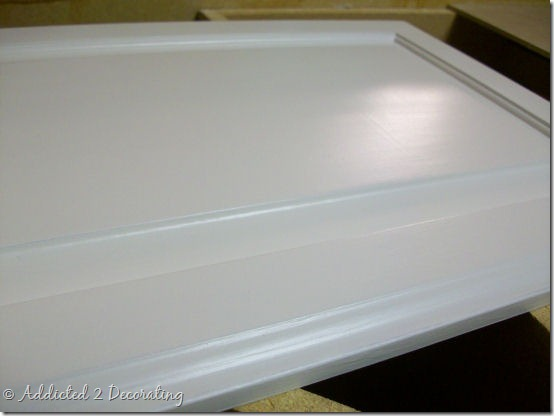 Almost Perfectly Painted Cabinet Doors 9