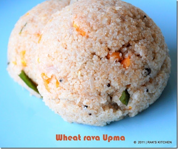 Rava Upma Recipe Rak S Kitchen