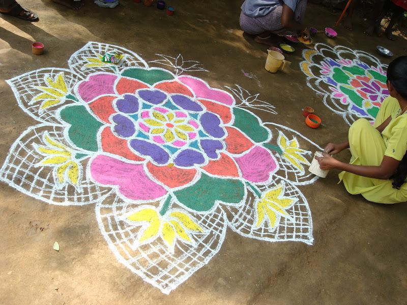 Miyzone Pongal Festival In Tamil Nadu Kolam S