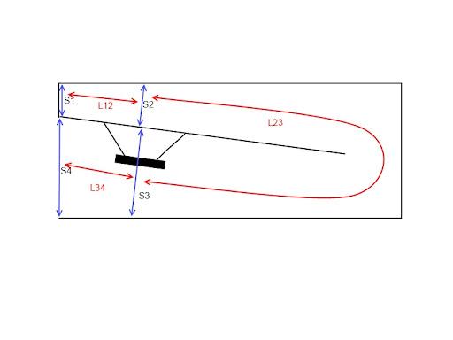 simple tapped horn tutorial using hornresp avs forum. Black Bedroom Furniture Sets. Home Design Ideas