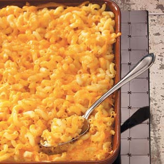 Old-Fashioned Macaroni and Cheese.