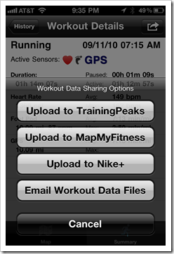 How to download your Garmin 310XT Info via an iPhone – Privateer