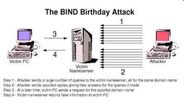 No Tricks: On the DNS Birthday Probability