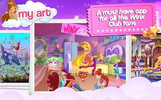 Screenshot of Winx –Club Fairy Artist!