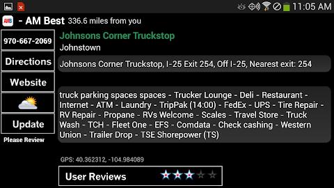Truck Stops and Travel Plazas Screenshot 3