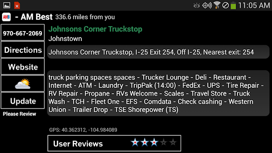 Truck Stops and Travel Plazas Screenshot 13