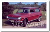 SIMCA 1204 WAGON