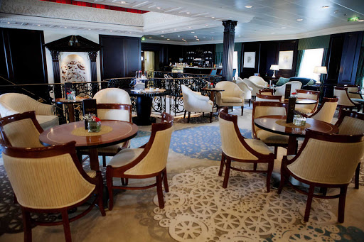 Azamara-Ship-Mosaic-2 - The chic Mosaic Cafe serves gourmet coffee and decadent desserts on Azamara cruises.