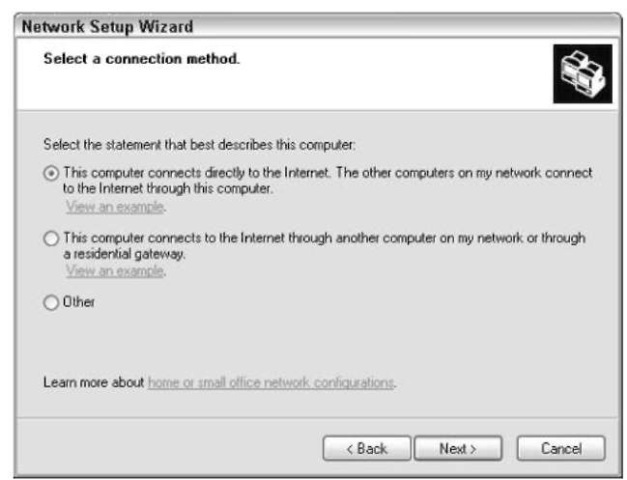 Installing A Small Network In Windows Xp