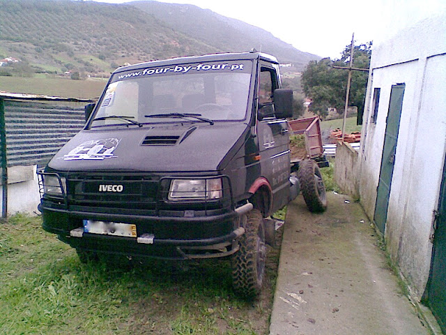IVECO 4x4 - rims and tires - Horizons Unlimited - The HUBB