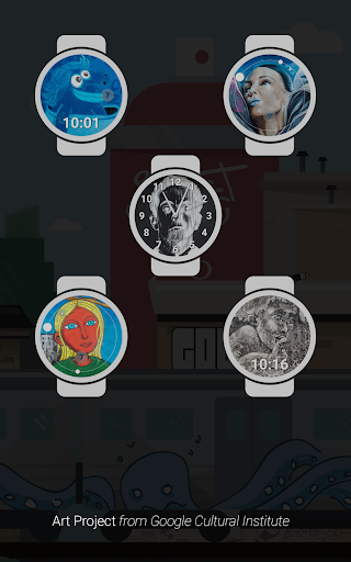 Street Art watch face for PC