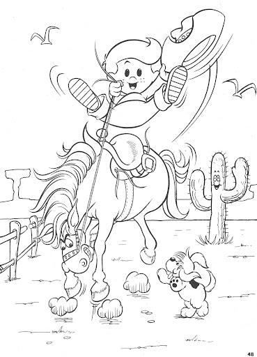 precious moments cowboy coloring pages - photo#8