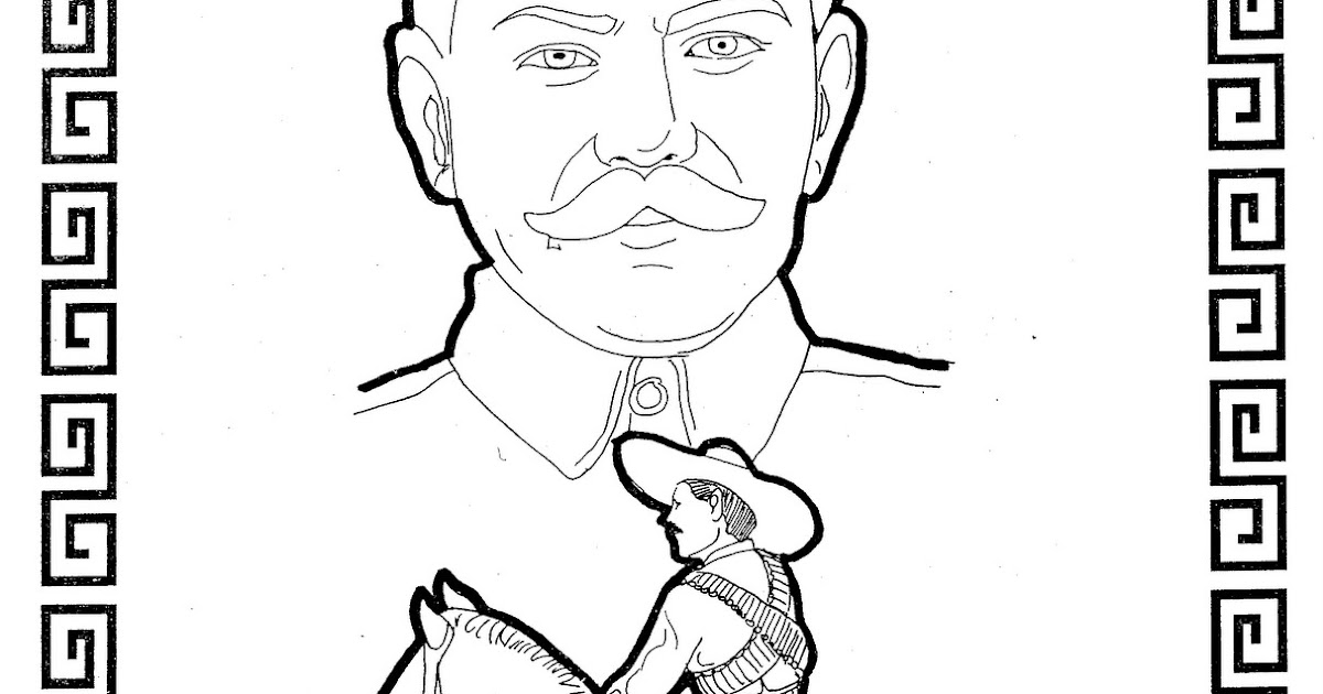 Onerso Coloring Pages Pancho Villa Free Coloring Pages