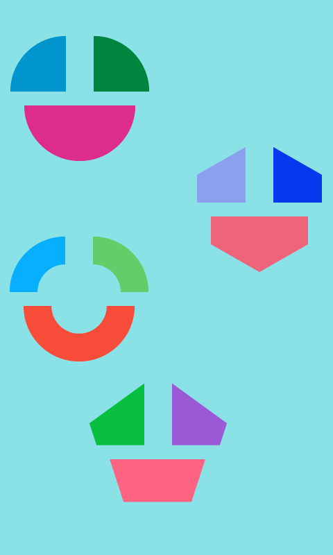 Touch and Smile! Various Shape- screenshot