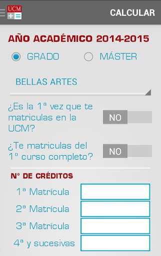 UCMatricula