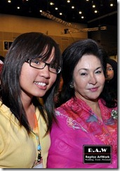 with pm's wife