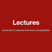 Lectures UAS Ludwigshafen
