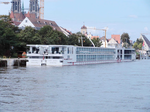 Viking Delling in Regensburg, Germany.