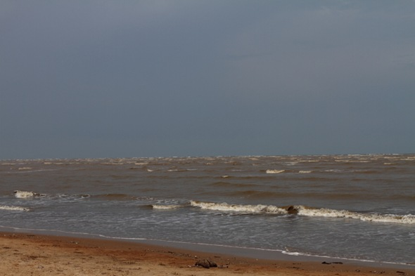 Bay of Bengal View at Chandipur Beach, Orissa