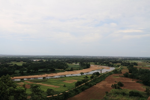 Daya River and the Kalinga Battlefield