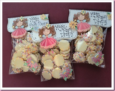 Magic Fairy Drops Sweet Candy Favor Bags
