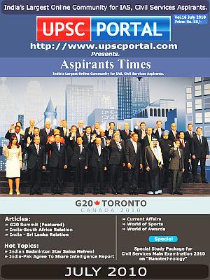 Aspirants Times July 2010
