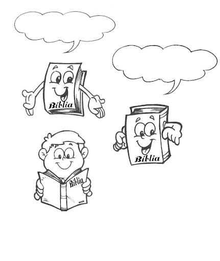Desenhos Para Colorir Biblia Sou Catequista
