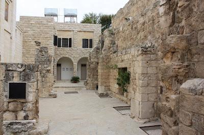 Betania - Excavaciones en torno a la tumba de Lazaro 1