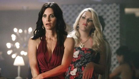 Courtney Cox em Cougar town