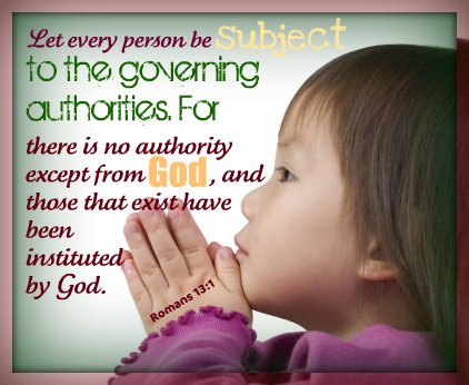 WFW - Submitting to God's Authority: Election