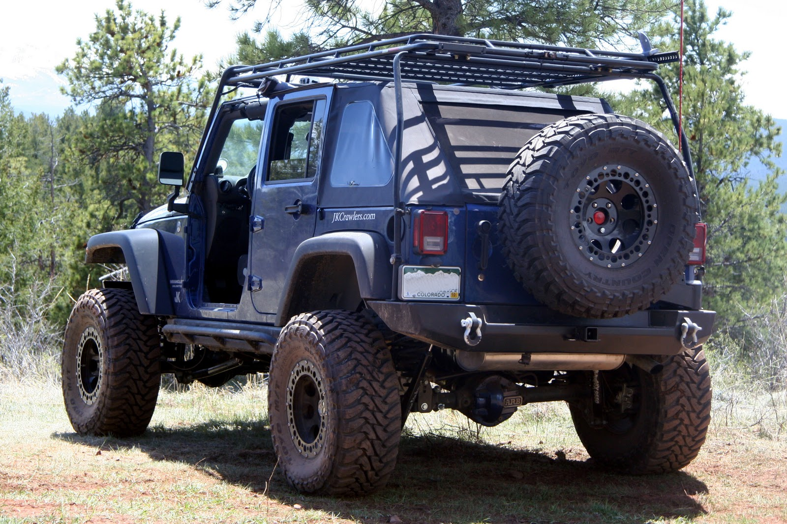 Gobi Roof Rack And Soft Top Jkowners Com Jeep Wrangler