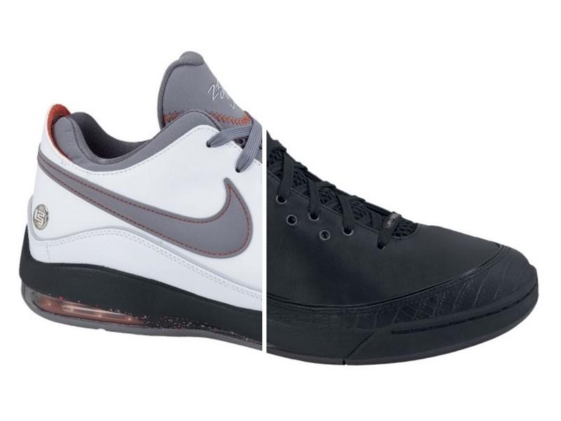 270d53b77316 New Nike LeBron VII Lows 8211 BlackPlum amp WhiteGreyOrange ...