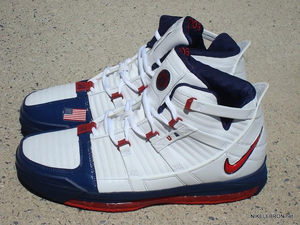 6c763d72f3f3 ... Throwback Thursday Nike Zoom LeBron III USA Basketball PE ...