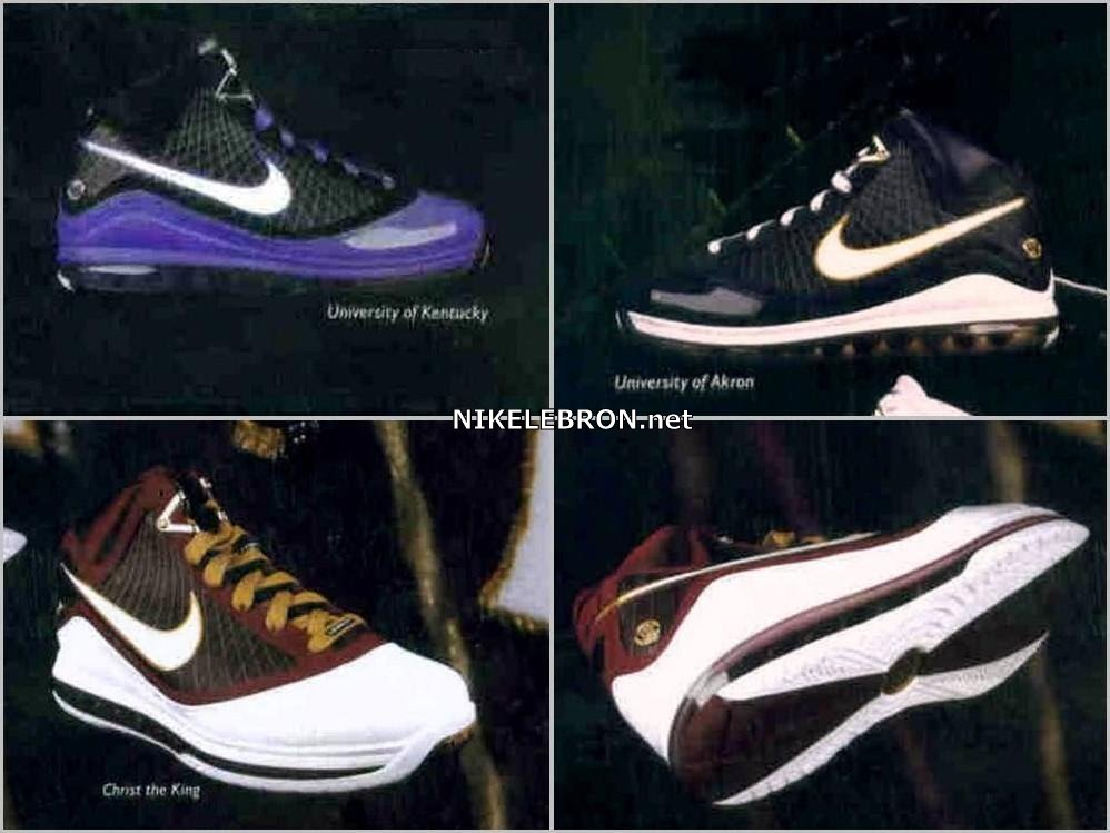 ca9b2d41fc86 Sneak Peek 8211 CTK Akron University of Kentucky 8211 LeBron VII8217s ...