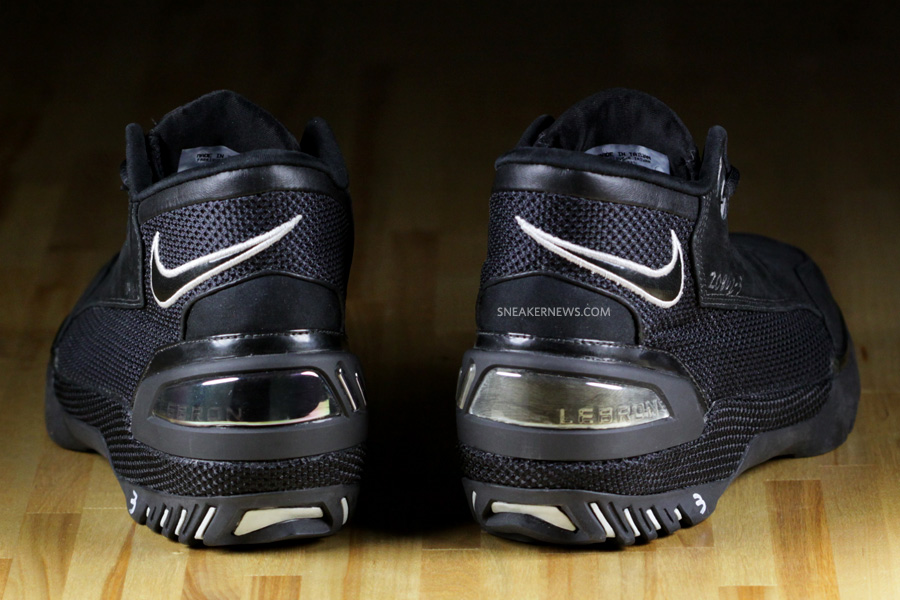 4070f06b608 Nike Air Zoom Generation Prototype 8211 Black amp White Wear Test ...