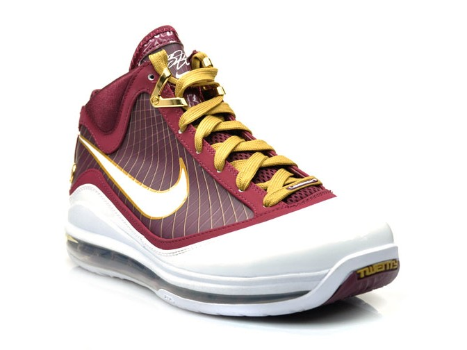 on sale f1213 be0c1 Upcoming Nike Air Max LeBron VII 8220Christ The King8221 Away Edition ...