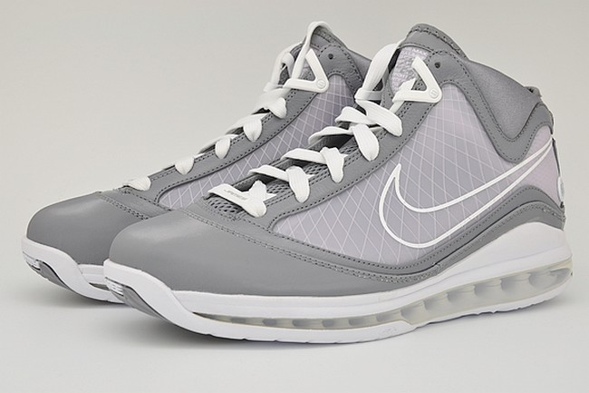Releasing Now Nike Air Max LeBron VII 8211 Cool Grey White ... 34ff40af66