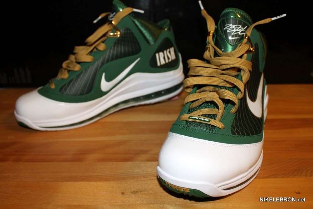 on sale 45059 76203 ... Air Max LeBron VII 7 SVSM Away Player Exclusive Showcase ...