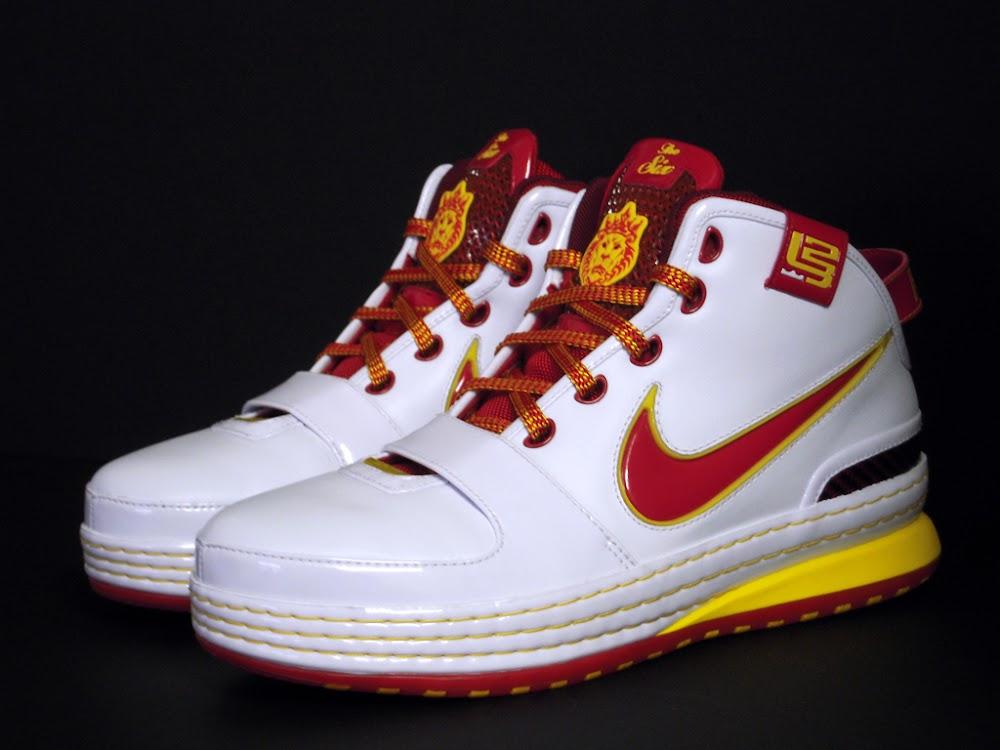 detailed look 3d14b bd4f2 Throwback Thursday Nike Zoom LeBron VI 6 Fairfax Home PE ...