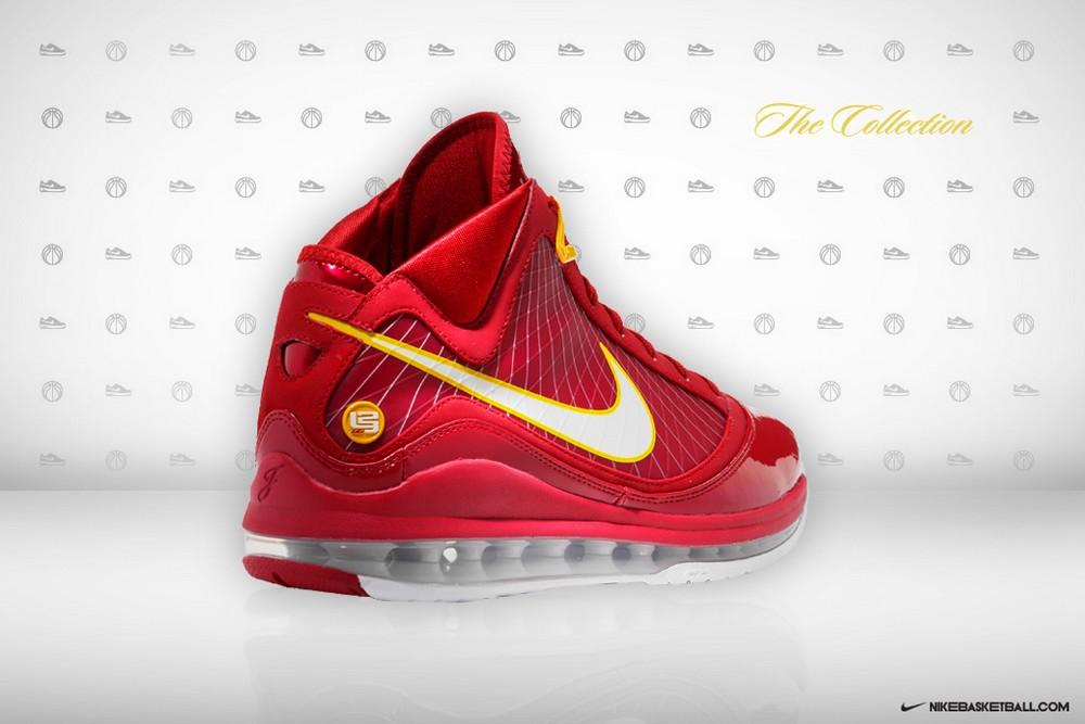 40ca7b8f4ef23 ... Nike Air Max LeBron VII CavFanatic Player Exclusive 8211 New Photos ...