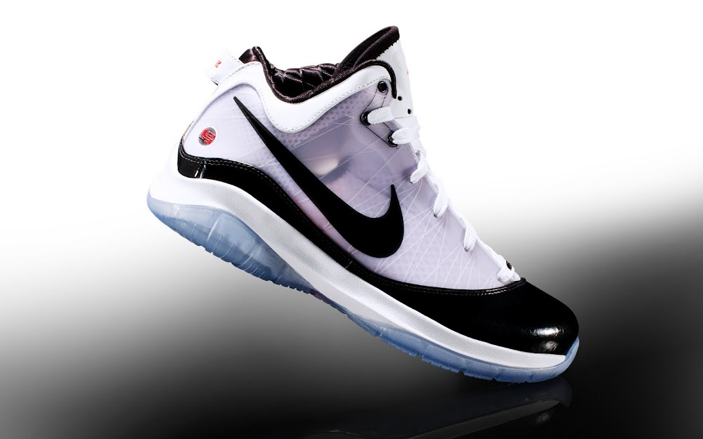 sports shoes e08e8 a1a7e Releasing Now  Nike LeBron VII P.S. POP White Black-Sport Red   NIKE LEBRON  - LeBron James Shoes