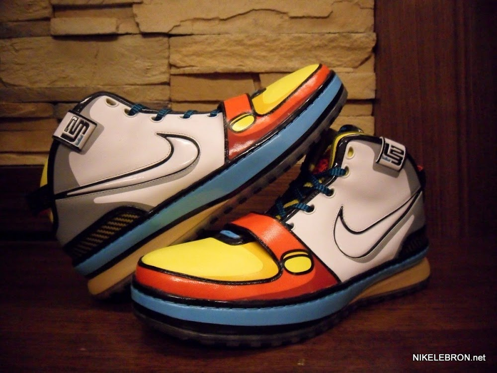 Throwback Thursday  A Second Look at the Stewie Zoom LeBron VI ... 4f7664885