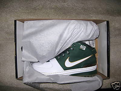 ffbc9458afeb9 ... Saint Vincent 8211 Saint Mary Nike Zoom LeBron VI Away ...