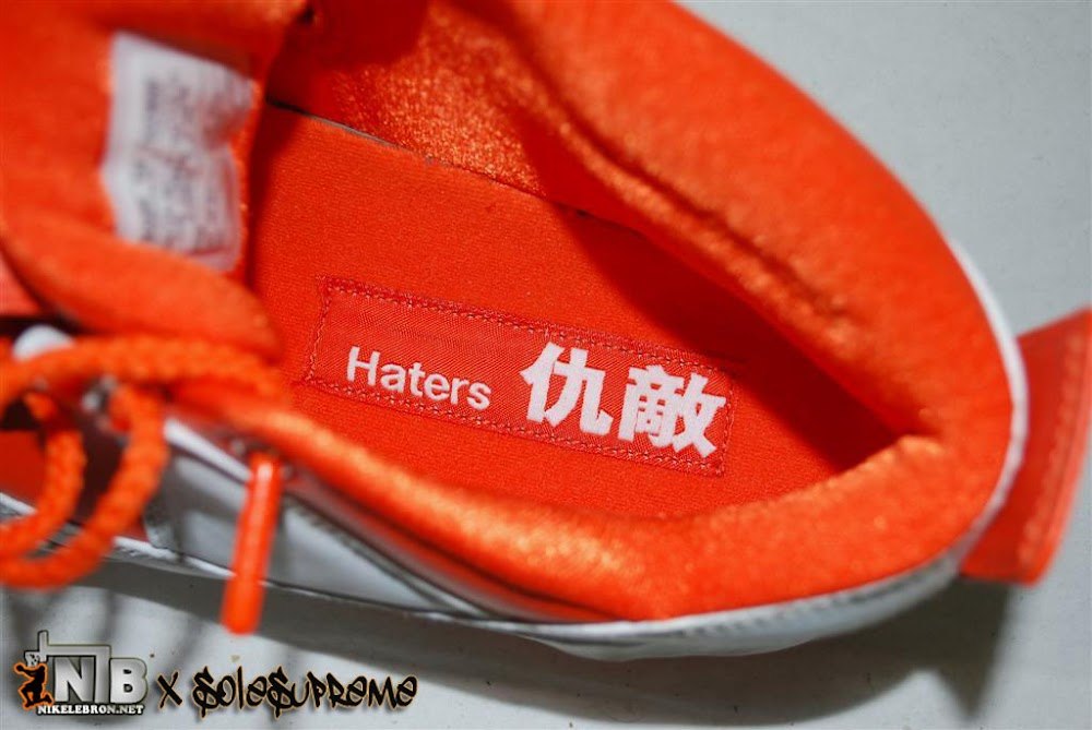 official photos 27e38 0a150 ... Ultra Rare 8220Haters8221 Nike Zoom LeBron II Low Sample ...